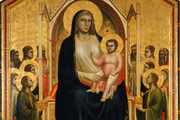 The Ognissanti Madonna by Giotto