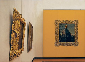 New Yellow Rooms at Uffizi