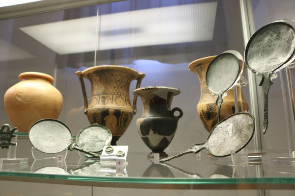 Artifacts from the Romans & Etruscans in Volterra