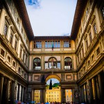 What happened to the Uffizi's official website?