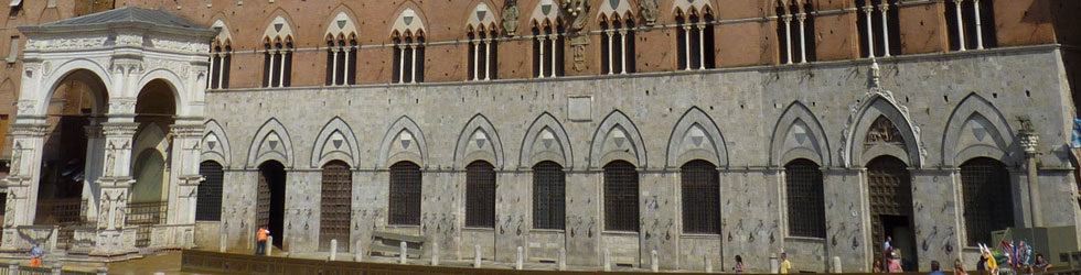 Tower of Mangia and Square in Siena