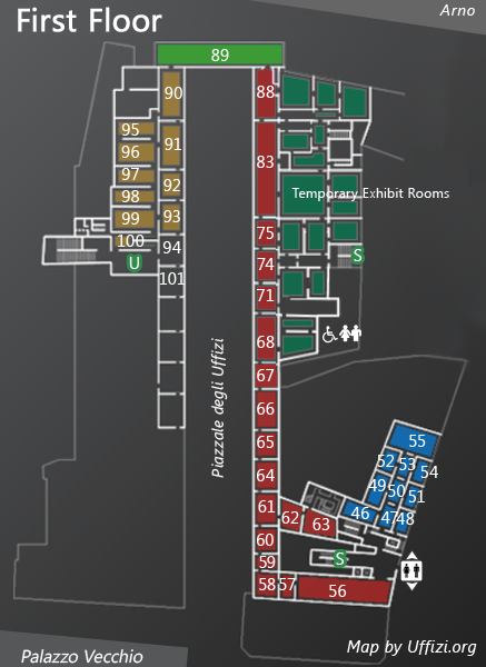 Map 1st Floor