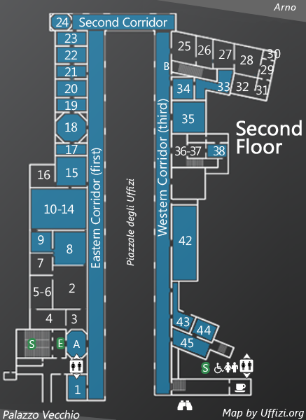 Map 2nd Floor