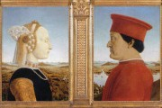 Portraits of the Duke & Duchess of Urbino by Piero della Francesca
