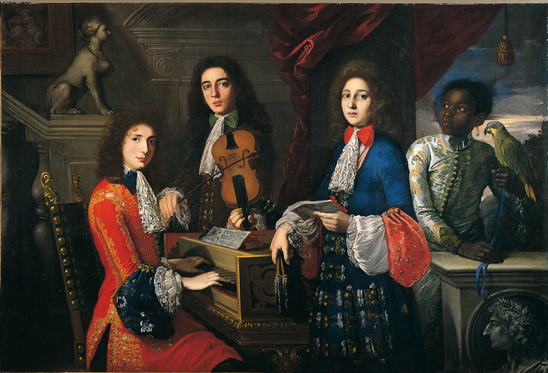 Anton Domenico Gabbiani - Musicicians and singers for the Grand Prince Ferdinando
