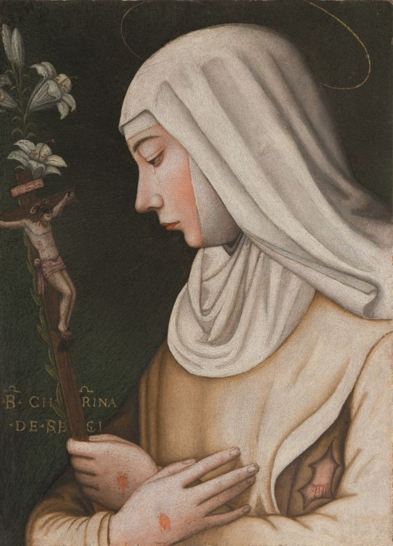 St Catherine of Siena, attributed to Plautilla Nelli and workshop.